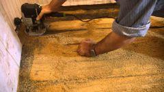 Как снять краску с деревянных полов