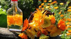How to make a calendula tincture for acne