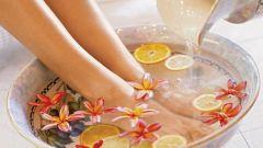 Как парить ноги при кашле