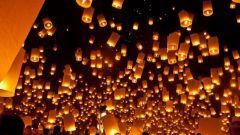 Как запускать китайские фонарики