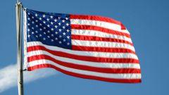 Как связать кофту с американским флагом