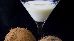 Как приготовить коктейль с кокосом