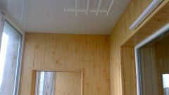 Как обшить балкон мдф- панелями
