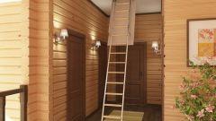 Чердачные лестницы: виды, материалы и особенности конструкции