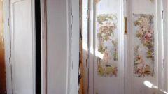 Как сделать декупаж межкомнатной двери