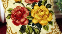 How to wash the cross-stitch