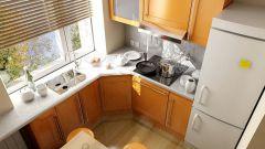 Как визуально расширить маленькую кухню