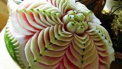 Как научиться вырезать фигурки из фруктов