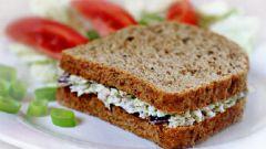 Как сделать диетический бутерброд