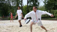 Как научиться играть в пляжный теннис