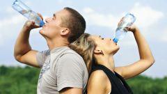Как начать пить много воды