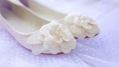 Балетки как обувь для невесты