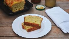 """Как приготовить быстрый кекс с сыром """"Чеддер"""""""