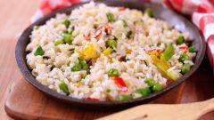Как готовить овощи с рисом в мультиварке