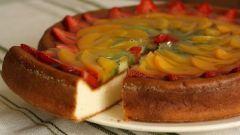 Как приготовить фруктовый торт с желе