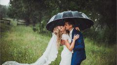 Что означает дождь на свадьбе