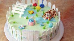 Как сделать торт из пластилина