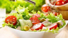Готовим низкокалорийные салаты из овощей