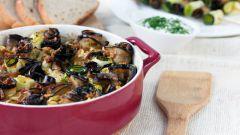 Как вкусно потушить баклажаны с овощами