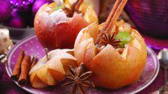 Как приготовить печёные яблоки