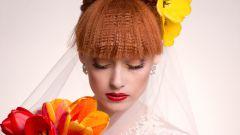 Особенности макияжа для рыжеволосых невест