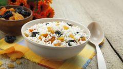 Рецепт кутьи из риса с изюмом