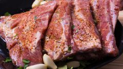 Рецепт маринада для свиных ребрышек