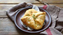 Рецепты грузинской кухни: хачапури из слоеного теста