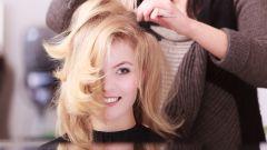 Укладка волос длиной до плеча