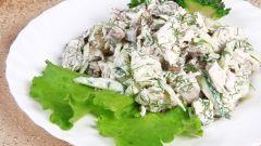 Блюда узбекской кухни: салат Ташкент