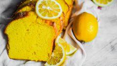 Быстрый простой рецепт лимонного кекса