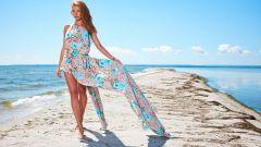 Готовимся к летнему сезону - шьем воздушное легкое платье