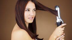Делаем локоны на волосы средней длины