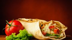 Для вегетарианцев: шаурма без мяса. Рецепт с фото