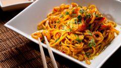 Из китайской кухни: лапша с устричным соусом