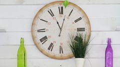 Как самостоятельно сделать настенные часы