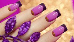 Как сделать квадратные ногти в домашних условиях