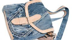 Модная сумка из старых джинсов. Полезные советы
