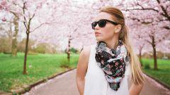 Модникам: варианты завязывания шарфа