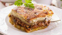 Мусака - традиционное греческое блюдо