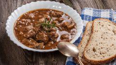 Рецепт острого пикантного венгерского гуляша