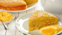 Рецепт с фото апельсинового пирога