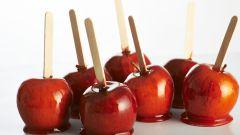 Рецепт яблок в карамели