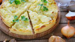 Рецепты немецкой кухни: луковый пирог