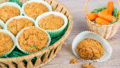 Фруктово-овощная выпечка: яблочно-морковные кексы. Рецепт с фото