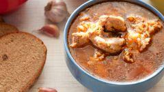 Харчо из курицы с орехами - новый вкус знакомого блюда