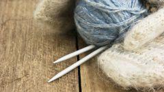 Вяжем варежки: мастер-класс на спицах