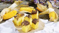 Кукурузная полента с сыром - кулинарный рецепт