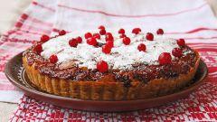 Рецепт: клюквенный пирог