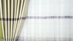Шьем шторы: выбор портьерной ткани, измерение окна